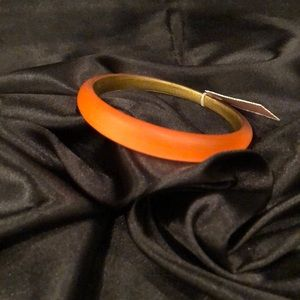 Alexis Bittar Orange Bangle